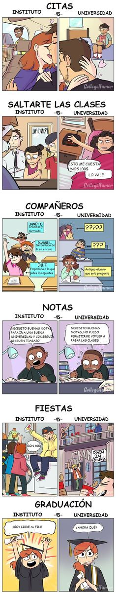 Instituto vs universidad