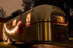 what's better than an airstream? ..... an airstream with twinkle lights......
