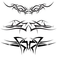 #Tattoo #TattooIdeas #TribalTattoos #TattooDesigns Tribal Tattoos For Men, Tribal Tattoo Designs, New Tattoos, Tattoos For Guys, Free Vector Images, Vector Free, Tattoo Set, Tatting, Illustration