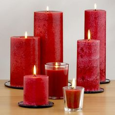 One of my favorite discoveries at WorldMarket.com: Asian Poppy Candles