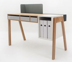 """Capa"" desk by Reinhard Dienes for the Foundry Collection"