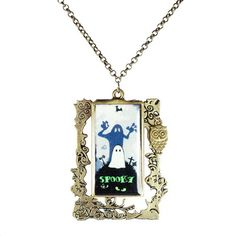 spooky necklace