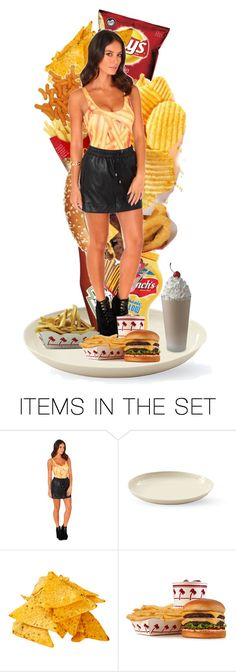 """""""The junk food lady"""" by purplez ❤ liked on Polyvore featuring art"""