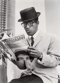 "Sammy Davis Jr. | Style Icon  Samuel George ""Sammy"" Davis, Jr. (1925 – 1990)...an American entertainer.....a dancer, singer, multi-instrumentalist (vibraphone, trumpet, and drums), impressionist, comedian, and Emmy-winning and Golden Globe-nominated actor."