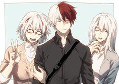 Boku no Hero Academia || Todoroki Fuyumi, Todoroki Shouto, Shouto`s Mother.