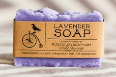 Lavender&Honey soap Gift SoapAll Natural by RusticJoySoap on Etsy