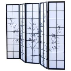 World Menagerie Paravent Sehermini Bamboo Room Divider, 4 Panel Room Divider, Diy Room Divider, Mystery Room, Marble Room, Decorative Room Dividers, Zen Room, Exotic Art, Room Additions