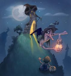 Happy Halloween by MarcoBucci.deviantart.com on @deviantART