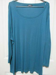 Moda long sleeved aqua top size 28 #Aqua #Casual #TopsBlouses Online Price, Aqua, Mens Tops, Ebay, Women, Fashion, Moda, Water, Women's