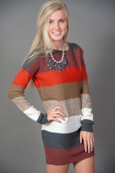 Perfect Fall Sweater dress