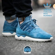#adidas #adidastubular #tubularmocrunner #sneakerbaas #baasbovenbaas  Adidas Tubular Moc Runner - Now available - Priced at 129,99 Euro  For more info about your order please send an e-mail to webshop #sneakerbaas.com!