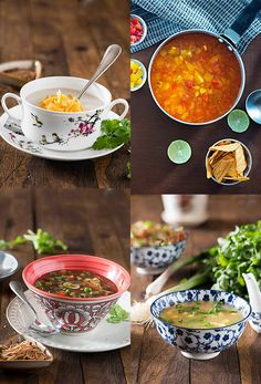 Looking for healthy homemade soup recipes to warm up? Try one of these best soup recipes! Sweet corn veggie soup, Hot n sour soup, Broccoli soup, Mushroom soup or Tomato soup. These amazingly delicious soup recipes will fill you up, are healthy and homemade soup made from scratch. Soups are best way to use up...Read More »