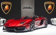 Lamborghini Aventador J. Amazing! Don't say we don't treat you at carhoots.com