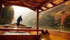 boat tour according to the seasons. HOSHINOYA Kyoto, Japan Hoshino Resorts