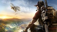 This wallpaper has tags of Tom Clancy's Ghost Recon: Wildlands, Video Game, Soldier, Helicopter, Tom Clancy, Ghost Recon Wildlands Wallpaper, The Useless Web, Crossover, Xbox One, Best Pc Games, Best Android Games, Free Android, New Year Wallpaper