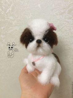 Купить Щенок японского хина Кнопка. - белый, собака, щенок, щеночек, японский хин