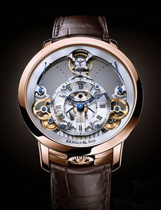 ARNOLD & SON - Time Pyramid | Watches-News