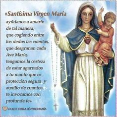 Baseball Cards, Fictional Characters, Blessed Virgin Mary, Powerful Prayers, Rosaries, Sweet, Dios, Fantasy Characters