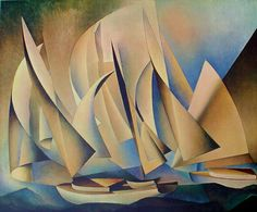 "Charles Sheeler ""Pertaining To Yachts And Yachting"" 1922 Philadelphia Museum of Art Philadelphia, PA"