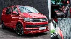8d0224a2a2  volkswagen Transporter Kombi Red Edition WASP - swiss vans van lease  Volkswagen Transporter
