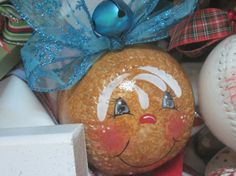 Hand Painted Softballs and Wooden items by SnowGingers on Etsy, $15.00