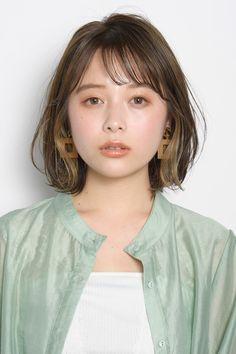 Japanese Short Hair, Asian Short Hair, Japanese Hairstyle, Girl Short Hair, Milkshake Hair Products, One Length Haircuts, Korean Hair Color, Shot Hair Styles, Hair Arrange