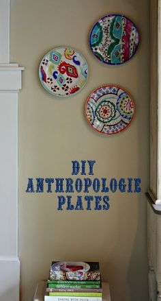 My Sweet Savannah: ~anthropologie hacienda plate knockoff~{DIY}