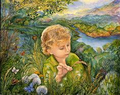 'Fly Away Home' by Josephine Wall