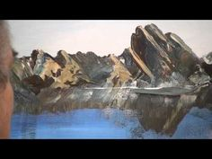 Paint Rocks and Ocean – painting lessons Acrylic Painting Lessons, Acrylic Painting Techniques, Painting Videos, Art Techniques, Landscape Art, Landscape Paintings, Mountain Paintings, Beginner Painting, Watercolour Tutorials