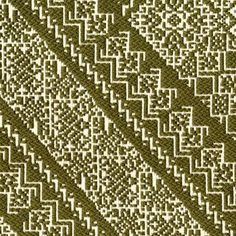 Our geometric Bowles textile reflects the colors of the leaves before they begin to change.