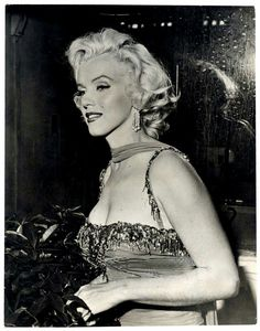 Marilyn at St Jude Children's Hospital charity event, July 10, 1953.