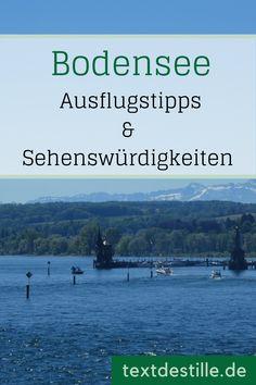 Hier findet ihr schöne Ausflugsziele sowie kulturelle und historische Highlights am Bodensee. #bodensee #ausflug #geschichte #konstanz Reisen In Europa, Cool Countries, In This World, Road Trip, Germany, Around The Worlds, Country, Highlights, Places