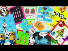 ▶ DIY Gifts! 10 Easy DIY Card Ideas (DIY Cards with Christmas Gifts, Birthday & Valentine's Day) - YouTube