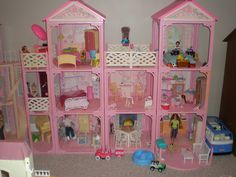 Barbie Homes And Furniture On Pinterest Barbie Dream