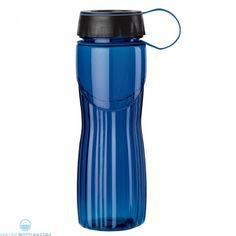 1ef181bc2c Blue PETE Water Bottles | 24 oz #blue #waterbottles Custom Water Bottles,  Personalised