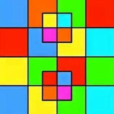 ¿Cuantos cuadrados hay? El 90% falla esta prueba
