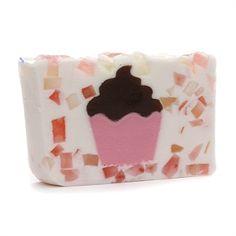 Primal Elements Handmade Vegetable Glycerine Soap, Cupcake