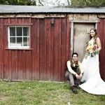 Rustic Red Shack at Schoolhouse No. 1 Four Courners by Sweet Deets Events - Photo by Adeline & Grace Photography