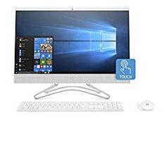 HP All-in-One Computer, Intel Pentium Silver RAM, hard drive, Windows 10 White) Windows 10, Teclado Qwerty, All In One Pc, Memoria Ram, Hp Pavilion, Built In Speakers, 4gb Ram, Desktop Computers, Hdd