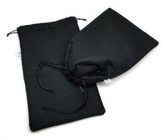Saquinho acolchoado porta-trecos - FashionArts - Artesanatos da Moda - preto