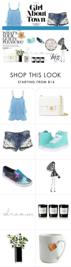 """""""Untitled #13"""" by princess113657 on Polyvore featuring Chanel, Vans, Percy & Reed, Byredo, LSA International, le mouton noir & co. and Clips"""