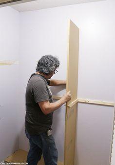 Entry Closet Shelves Built Ins Ideas Entry Closet, Closet Redo, Bedroom Closet Design, Closet Remodel, Hall Closet, Build A Closet, Master Bedroom Closet, Closet Designs, Closet Space