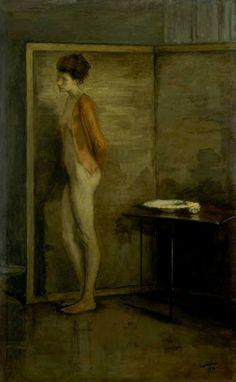 Romaine Brooks. La jaquette rouge 1916