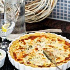 Matig laxpaj Swedish Recipes, New Recipes, Recipies, Coleslaw, Fish And Seafood, Apple Pie, Camembert Cheese, Good Food, Brunch