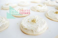 cream cheese frosted sugar cookie recipe
