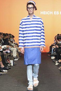 Heich es Heich Spring Summer 2016 - Primavera Verano . Seoul Fashion Week - #Menswear #Trends #Tendencias #Moda Hombre - MFT