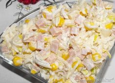 Sałatka z selera ananasa i szynki Good Food, Yummy Food, Easy Salads, Pasta Salad, Food Inspiration, Salad Recipes, Potato Salad, Food And Drink, Cooking Recipes