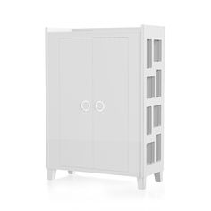 """Volutto Wardrobe White Edition. """"A different feeling of space"""". Suommo Luxury for Babies. www.suommo.com"""