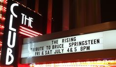 BRUCE SPRINGSTEEN TRIBUTE...THE RISING @ CANNERY
