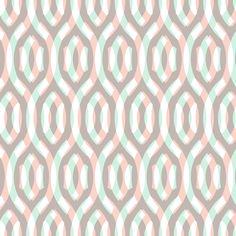 pastel double lattice fabric by weavingmajor on Spoonflower - custom fabric